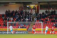 Crawley Town fans during the EFL Sky Bet League 2 match between Walsall and Crawley Town at the Banks's Stadium, Walsall, England on 18 January 2020.