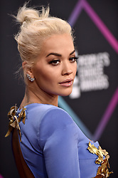 Rita Ora attends the People's Choice Awards 2018 at Barker Hangar on November 11, 2018 in Santa Monica, CA, USA. Photo by Lionel Hahn/ABACAPRESS.COM
