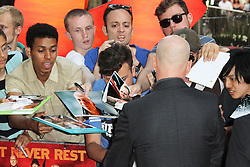 © Licensed to London News Pictures.22/07/2013. Bruce Willis, Red 2 European Film Premiere, Empire cinema Leicester Square, London UK, 22 July 2013. Photo credit : Richard Goldschmidt/Piqtured/LNP