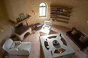 The renovated dovecote with cozy room. Chateau Reignac, Bordeaux, France