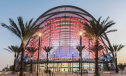 Anaheim Regional Transportation Intermodal Center at Dusk