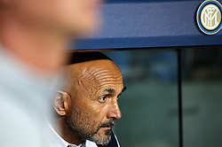 October 24, 2018 - Barcelona, Spain - Luciano Spalletti during the match between FC Barcelona and Inter, corresponding to the week 3 of the group stage of the UEFA Champions Leage, played at the Camp Nou Stadium, on 24th October 2018, in Barcelona, Spain. (Credit Image: © Joan Valls/NurPhoto via ZUMA Press)