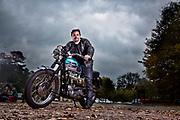 Richard Hammond portraits and motorbikes