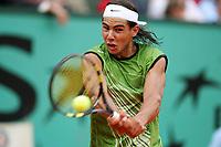 Tennis<br /> French Open 2005 <br /> 03.06.2005<br /> Foto: imago/Digitalsport<br /> NORWAY ONLY<br /> <br /> Rafael Nadal fra Spania - vinner