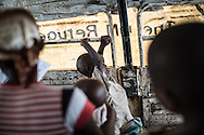 DRC / Burundi Refugees / About 150 Burundian refugees have been relocated from the Luvungi makeshift camp to the UNHCR-run Kavimvira transit<br /> centre in Uvira, DRC's South Kivu Province. About 650 vulnerable Burundian refugees are hosted in Kavimvira transit centre.<br /> <br /> More than 9000 Burundians refugees have crossed into the DRC over the past few weeks. The new<br /> arrivals are being hosted by local families, but the growing numbers are straining<br /> available support. UNHCR is helping some 700 vulnerable refugees at a transit centre<br /> at Kavimvira and in another centre at Sange. Work is ongoing to identify a site<br /> where all the refugees can be moved, and from where they can have access to<br /> facilities such as schools, health centers and with proper security. / UNHCR / F.Scoppa / May 2015