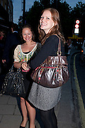 ALEXANDRA WILCOX; HELEN SKYBAK, The Pimlico Road Summer party. London SW1. 9 June 2009