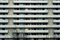 High-rise flats, West Bromwich, West Midlands, England, UK.