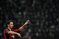Zlatan Ibrahimovic (Milan) <br /> Milan Tottenham - UEFA Champions League 2010-2011 - Andata degli Ottavi di Finale<br /> Stadio Giuseppe Meazza, Milano, 15/02/2011<br /> © Giorgio Perottino / Insidefoto