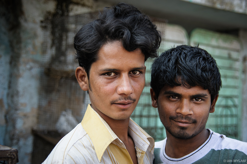 Two Young Men- Hyderabad, India
