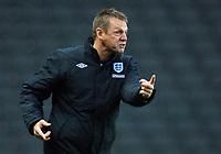 Fotball<br /> England<br /> Foto: Colorsport/Digitalsport<br /> NORWAY ONLY<br /> <br /> Stuart Pearce (England U 21 Manager) England v Azerbaijan 8/06/2009