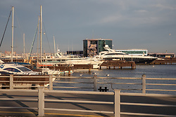 Baku Marina Along The Caspian Sea