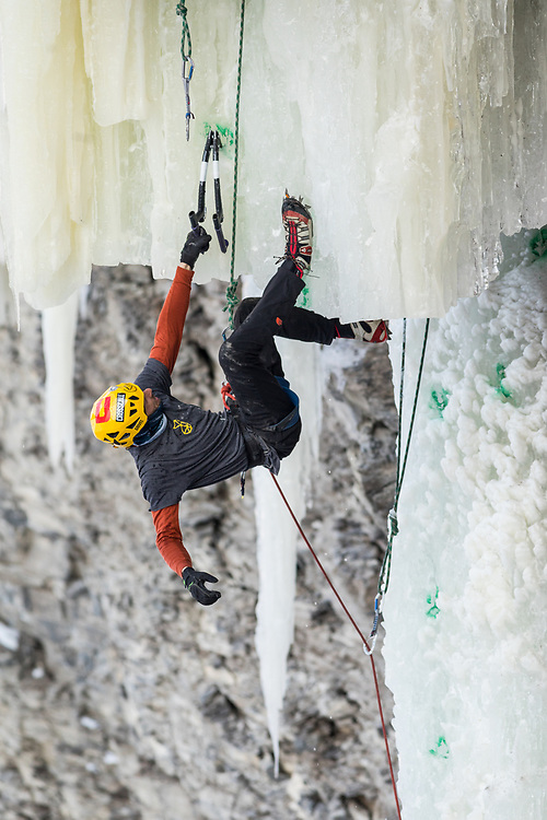 The final competition route at Festiglace 2020