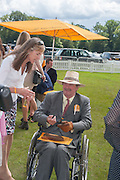LORD MARK VESTEY, The Veuve Clicquot Gold Cup Final.<br /> Cowdray Park Polo Club, Midhurst, , West Sussex. 15 July 2012.