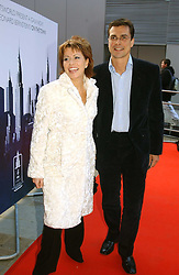 NATASHA KAPLINSKY and JUSTIN BOWER at the English National Opera's 'On The Town' presented by SKY and Artsworld followed by a Tribute to Leonard Bernstein hosted by Jerry Hall at The London Coliseum, St.Martin's Lane, London WC2 on 11th May 2005.