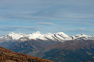 View north to the Ankogel Group of the Hohe Tauern, from Kamplnock (2101m) in the Millstätter Alpe, Nockberge mountains. Alpe Adria Trail, Carinthia, Austria (October 2015) © Rudolf Abraham