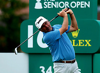 Golf - 2019 Senior Open Championship at Royal Lytham & St Annes - First Round <br /> <br /> Fred Couples (USA) drives off the 16th tee.<br /> <br /> COLORSPORT/ALAN MARTIN
