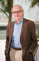 Director Ken Loach at the photo call for the film Jimmy's Hall at the 67th Cannes Film Festival, Thursday 22nd May 2014, Cannes, France.