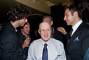 Mika; Graham Norton; Matt Lucas; Sir Ian McKellen; David Walliams, Party after the opening of  'Prick Up Your Ear's'  at the Comedy theatre. Cafe de Paris. Leicester Sq. London. 30 September 2009