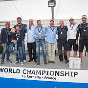 Podium des championnat du monde de Dragon 2015 - UAE 8 - RUS 76 - UAE 7
