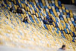 September 14, 2017 - Lviv, UKRAINA - 170914 Publik inför fotbollsmatchen i Europa League mellan Zorya och Östersund den 14 september 2017 i Lviv  (Credit Image: © Johanna Lundberg/Bildbyran via ZUMA Wire)