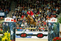 Lutz Peter, (USA), Robin de Ponthual<br /> Longines FEI World Cup Jumping Final III B<br /> © Dirk Caremans
