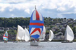 The Silvers Marine Scottish Series 2014, organised by the  Clyde Cruising Club,  celebrates it's 40th anniversary.<br /> Day 1<br /> GBR2527C, Buzzy Bee, Elliot Witherow, CCC, Bavaria 31<br /> <br /> Racing on Loch Fyne from 23rd-26th May 2014<br /> <br /> Credit : Marc Turner / PFM