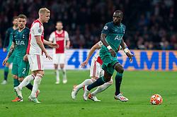08-05-2019 NED: Semi Final Champions League AFC Ajax - Tottenham Hotspur, Amsterdam<br /> After a dramatic ending, Ajax has not been able to reach the final of the Champions League. In the final second Tottenham Hotspur scored 3-2 / Donny van de Beek #6 of Ajax, Moussa Sissoko #17 of Tottenham Hotspur