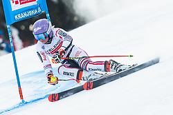 Tessa Worley (FRA) during Ladies' Giant Slalom at 57th Golden Fox event at Audi FIS Ski World Cup 2020/21, on January 17, 2021 in Podkoren, Kranjska Gora, Slovenia. Photo by Vid Ponikvar / Sportida
