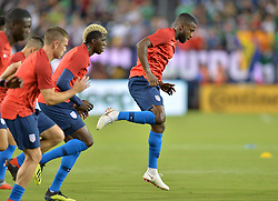 September 11, 2018 - Nashville, Tennessee, United States - Nashville, TN - Tuesday September 11, 2018: The men's national teams of the United States (USA) and Mexico (MEX) played an international friendly at Nissan Stadium. (Credit Image: © John Todd/ISIPhotos via ZUMA Wire)