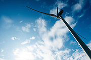 Windmolens bij Vrouwenpolder in Zeeland.<br /> <br /> Wind mills near Vrouwenpolder in Zeeland.
