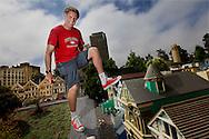 Will Ferrell at Legoland, CA
