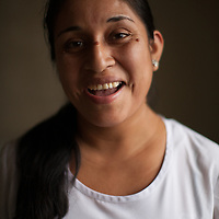 Daysi Luana Siloan Kajima, nurse providing medical attention at Fairtrade-certified banana coop BOS in Peru. The Fairtrade premium is used by the coop on healthcare and education projects.