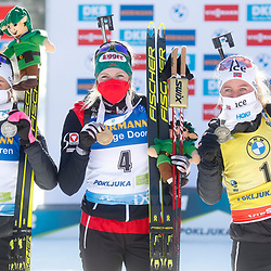 20210221: SLO, Biathlon - IBU Biathlon World Championships 2021 Pokljuka, 12,5km Mass start Women