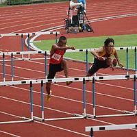 B Division Boys 110m Hurdles