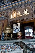 Altar at Khai Dinh Tomb, Hue, Vietnam, Southeast Asia