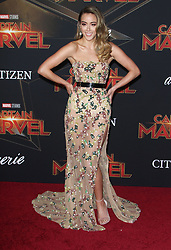 Premiere of Marvel Studio's Captain Marvel at El Capitan Theatre in Hollywood, California on 3/4/19. 04 Mar 2019 Pictured: Chloe Bennet. Photo credit: River / MEGA TheMegaAgency.com +1 888 505 6342