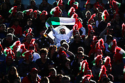 Italian supporters during the Guinness Six Nations 2020, rugby union match between Italy and Scotland, Saturday Feb. 22, 2020,in Rome, Italy. (Federico Proietti/ESPA-Images-Image of Sport)