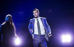May 8, 2017 - Stockholm, Sweden - Robin Bengtsson, Sverige..Eurovision Song Contest i Kiev, Ukraina. Repetition inför första semifinalen (Credit Image: © Aftonbladet/IBL via ZUMA Wire)