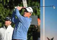 Golf - 2019 BMW PGA Championship - Thursday, First Round<br /> <br /> Robert MacIntyre of Scotland tees off at the 3th hole, at the West Course, Wentworth Golf Club.<br /> <br /> COLORSPORT/ANDREW COWIE
