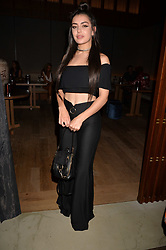Charli XCX at the Warner Music Group and British GQ Summer Party in partnership with Quintessentially held at Nobu Shoreditch, Willow StreetLondon England. 5 July 2017.<br /> Photo by Dominic O'Neill/SilverHub 0203 174 1069 sales@silverhubmedia.com