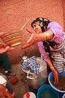 soup lady in Marrakech