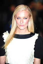 © Licensed to London News Pictures. 12/12/2011. London, England. Joely Richardson attends the world premiere of The Girl With The Dragon Tattoothe first film in the three-picture adaptation of Stieg Larsson's literary blockbuster The Millennium Trilogy.  Directed by David Fincher and starring Daniel Craig and Rooney Mara  in Liecester Square London .  Photo credit : ALAN ROXBOROUGH/LNP