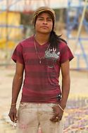 David, participante de la Feria Internacional de la Pirotecnia.