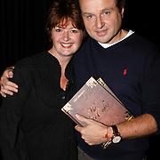 NLD/Amsterdam/20081107 - Boekpresentatie Patty Harpenau, Patty en partner