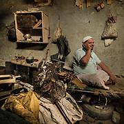 Nasurudin Malik. Metal recycler in sector 51 in Noida.