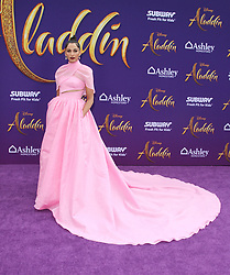 """Premiere Of Disney's """"Aladdin"""" at El Capitan Theatre in Hollywood, California on 5/21/19. 21 May 2019 Pictured: Naomi Scott. Photo credit: River / MEGA TheMegaAgency.com +1 888 505 6342"""
