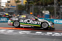 October 21, 2018 - Gold Coast, QLD, U.S. - GOLD COAST, QLD - OCTOBER 21: Race Winner Craig Lowndes / Steven Richards in the Autobarn Lowndes Racing Holden Commodore during the race at The 2018 Vodafone Supercar Gold Coast 600 in Queensland, Australia. (Photo by Speed Media/Icon Sportswire) (Credit Image: © Speed Media/Icon SMI via ZUMA Press)