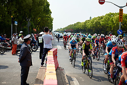 Jessica Allen (AUS) in the bunch at Tour of Chongming Island 2019 - Stage 1, a 102.7 km road race on Chongming Island, China on May 9, 2019. Photo by Sean Robinson/velofocus.com