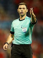 Russian referee Aleksei Igorevich during FIFA World Cup 2018 Qualifying Round match. October 6,2017.(ALTERPHOTOS/Acero)