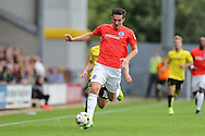 Brighton & Hove Albion central defender Lewis Dunk (5) during the EFL Sky Bet Championship match between Burton Albion and Brighton and Hove Albion at the Pirelli Stadium, Burton upon Trent, England on 17 September 2016.